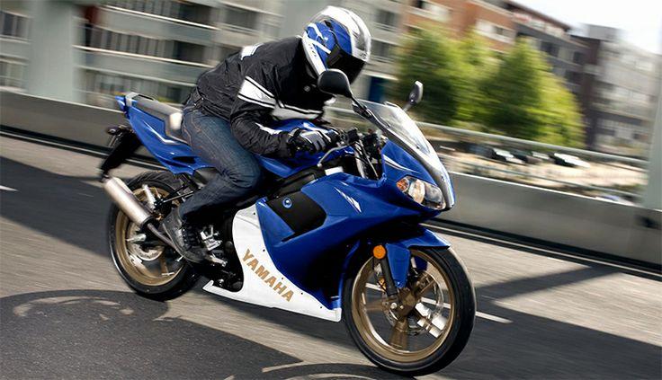 Yamaha TZR équipée d'un kit cylindre