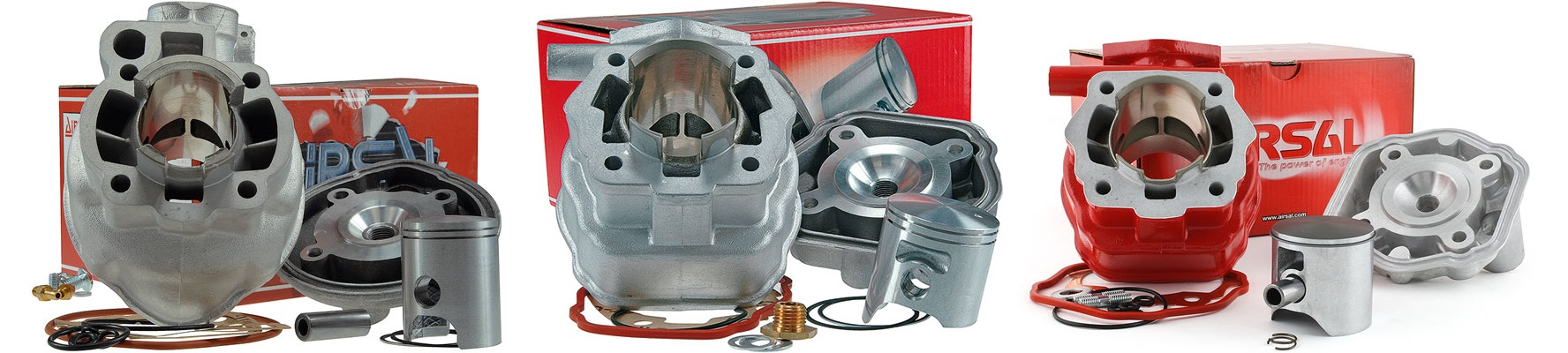 Cylindres aluminium Airsal