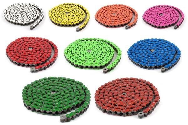 Les chaînes Stage6 sont déclinées en 9 coloris