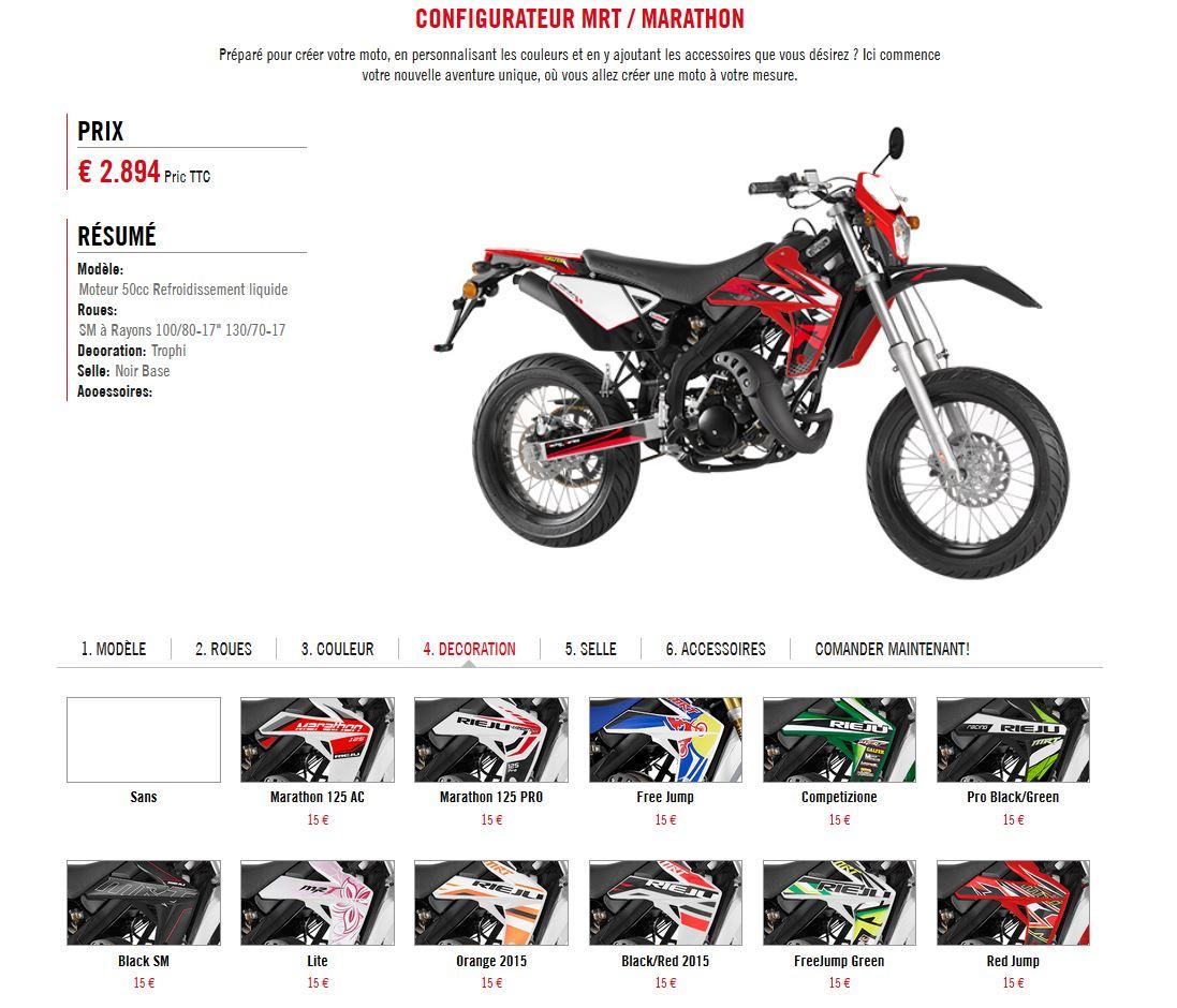 Accessoire moto 50cc rieju