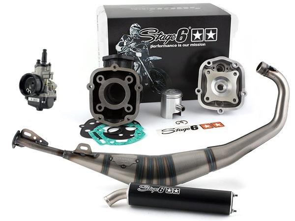 Configuration idéale : Cylindre StreetRace – Pot Pro Replica – Carburateur Dell'Orto de 19 mm