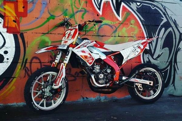 Derbi DRD replica Honda